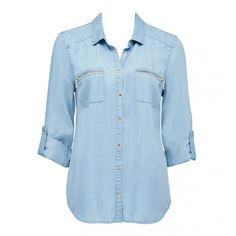 Carrie zip pocket shirt  Forever New