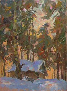 ANATOLIY OSTRETSOV Old House (1980)