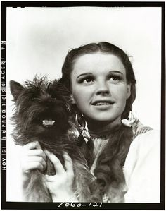 My mum was named after Judy Garland, because her dad loved her.