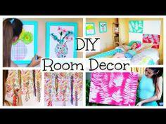 ▶ DIY Room Decor & Organization for Spring | Cute, Easy,Cheap! - YouTube