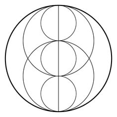 Sacred geometry with circles Circle Geometry, Sacred Geometry Patterns, Geometric Circle, Geometry Art, Geometric Designs, Geometric Series, Mandala Dots, Circle Pattern, Diy Arts And Crafts
