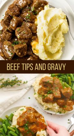 Beef Tip Recipes, Easy Meat Recipes, Beef Recipes For Dinner, Healthy Recipes, Meals With Beef, Dinner Ideas With Beef, Stewing Beef Recipes, Simple Dinner Recipes, Easy Meals For Dinner