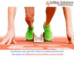 Endeavore to accelerate growth for our clients ! Contact us at http://www.softbiztech.com/softbiz-connect.html