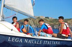 Luca, Mattia, Daniele, Alessio. Foto di Fabio Polidoro. #corsidivela #vela #LNV2014
