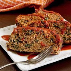 Paleo Turkey or Beef Meatloaf Recipe - not your momma's meatloaf...certainly not your ordinary meatloaf.