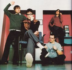Weezer! One of my all time favorites since I was 8 years old! :D