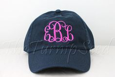 28a450792e95c Ladies  Monogram Baseball Cap - Custom Color Hat and Embroidery. Cheap Preppy  ClothesPreppy OutfitsLadies ...