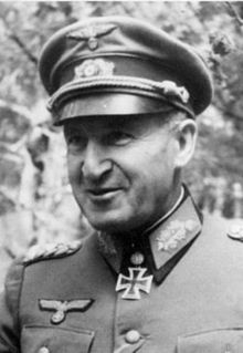 "Erhard Raus. Perhaps the most talented panzer commander on the Eastern Front, Raus commanded panzer units from Operation Barbarossa until Russian units crossed the German border in 1945. As commander of the 6th panzer division and later the 3rd panzer army, he showed flexibility and brilliance in both attack and defense. Captured by the Americans, his memoir became an essential part of US armor tactics training. The book is available today under the title ""Panzer Operations."""