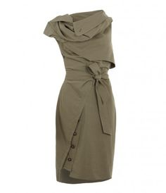 allsaints makes uniquely structured dresses - this one could be dressed up or down!