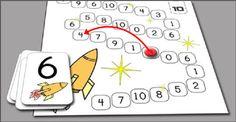 Number bonds to ten board game