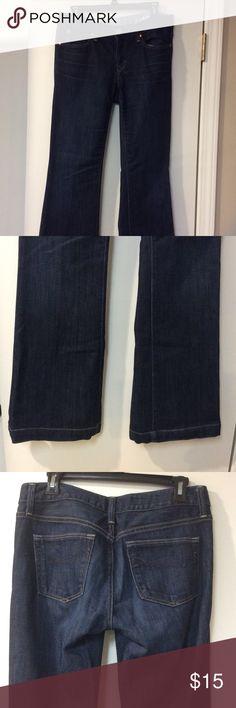GAP Long & Lean Jeans 27 inch waist or size 4R. Long and lean. EUC GAP Jeans Boot Cut
