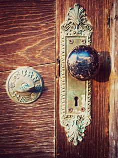 Abandoned House Photograph Antique Door by AmericanaArtByEllis, $25.00