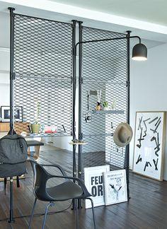 Office Furniture Design, Home Decor Furniture, Cafe Design, House Design, Room Deviders, Strip Led, Interior Architecture, Interior Design, Industrial House