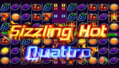 Heb je genoeg van geone saaie gokkasten? Probeer een 3D gokkast uit! Sizzling Hot Quattro van Novomatic is een fantastische spel! Maximale inzet is 10000 en maximale uitbetaling x5000!