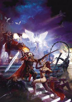 Sisters of Battle vs Dark Eldar