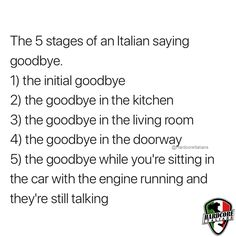 Omg this is pure truth 😂😂 — and not just for Italians Italian Memes, Italian Quotes, Funny Texts, Funny Jokes, Hilarious, You Funny, Funny Cute, Greek Memes, Funny Pictures