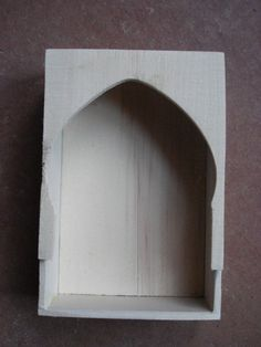 Unfinished shrine box - I would love to try my hand at making a (non-religious) shrine!
