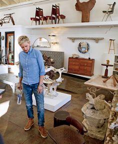 """voodoo74:   """"Home"""" - Ellen and Portia DeGeneres"""