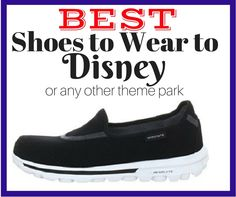 If you are planning a trip to Walt Disney World, you will want to be sure to pack a great pair of walking shoes.  These are my favorite ones to wear.