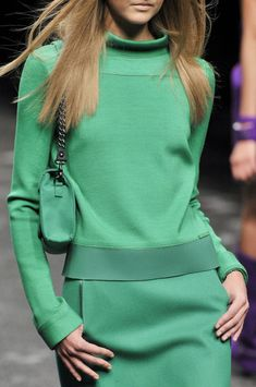 Blumarine at Milan Fashion Week Fall 2011 - Details Runway Photos