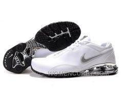 bb10dd9697a Men s Nike Shox R5 Shoes White Silver Black For Sale