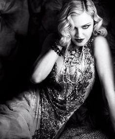 Madonna, photographed by Luigi & Iango for Harper's BAZAAR, Feb 2017.