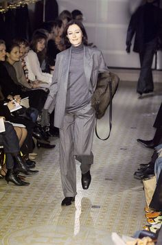 Hermès at Paris Fashion Week Fall 2001