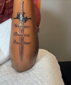 Cute Tattoos With Meaning, Name Tattoos For Moms, Pretty Tattoos For Women, Black Girls With Tattoos, Future Tattoos, Red Ink Tattoos, Baby Tattoos, Word Tattoos, Trendy Tattoos