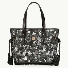 LOVE!!! Mickey Mouse Comics Tassel Bag by Dooney & Bourke
