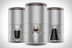 Using patented centrifugal brewing technology and an integrated grinder, the Spinn Coffee Maker can make everything from a cup of espresso to a full carafe of coffee with the utmost freshness. Thanks to the aforementioned grinder and built-in water filter,...