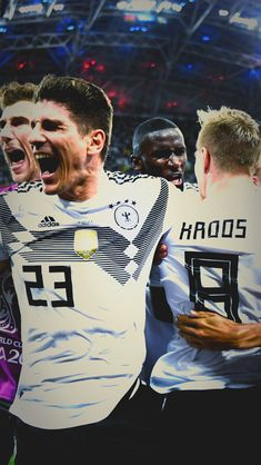 Team Germany National Football Team, Germany Football, Germany Team, Mario Gomez, Football Posters, Dfb Team, Fc Bayern Munich, Toni Kroos, Football Is Life
