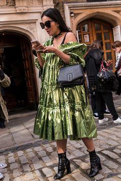 London Fashion Week Street Style Spring 2018