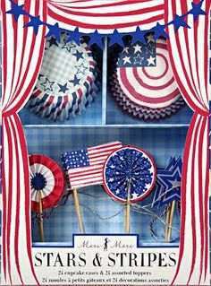 Meri Meri Cupcake Kits Stars and Stripes *** Read more reviews of the product by visiting the link on the image.