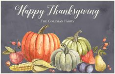 Fall Bounty Placemats, Beautiful Personalized Thanksgiving Plates, Cups & more at Affordable Prices Thanksgiving Plates, Happy Thanksgiving, Personalised Placemats, Special Characters, Fall Harvest, Ink Color, Stationery, Floral, Prints