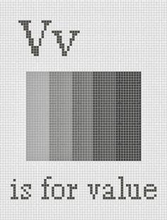 "Daisies for Violet: Free ""Value"" Cross Stitch Pattern.  Modern Cross Stitch Design."