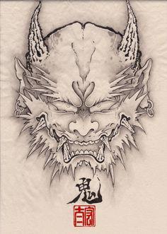 A Demon face | by Kota Nakatsubo