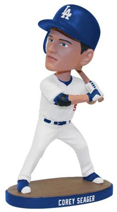 Corey Seager Bobblehead    **  Dodgers Blue Heaven: Giants Series Starts Tuesday - Dodgers Autographs, Stadium Giveaways, Pregame Info and Other Stuff!