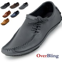Mens Casual Shoes Cowhide Driving Moccasins Slip On Loafers Man Loafers 2013 Genuine Leather Flats-in Loafers from Shoes on Aliexpress.com $29.38