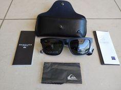3429679e86 Quiksilver The Ferris Premium Sunglasses - Matte Black / Green Polarized -  New #fashion #
