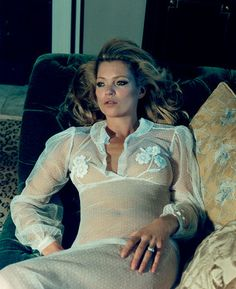 Emerald Suite | Kate Moss by Venetia Scott