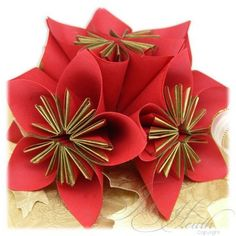 The 30 best paper folding images on pinterest paper craft paper paper folding flowers mightylinksfo