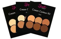 This contour kit is perfect for make-up pros – giving you three shades of light contour and three shades of dark contour to help you perfect your sought-after look. These creamy shades are helpfully numbered and the simple guide inside the kit shows you were each colour should be applied. The packaging is slim line and comes with a large mirror which makes for each application wherever you are.