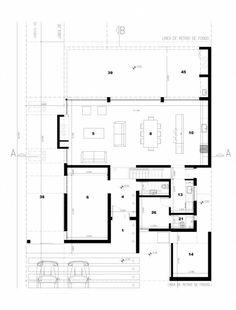 Diseño de planta de una casa para tv