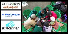This year, Passports with Purpose has teamed up with Worldreader to bring digital e-readers to five libraries in Kenya..