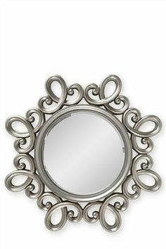 Buy Silver Swirl Mirror from the Next UK online shop
