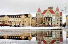 Winter in Helsinski Finland