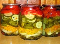 Preserves, Pickles, Cucumber, Food, Drinks, Natural, Canning, Salads, Drinking