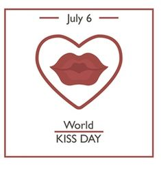 World Kiss Day vector Retro Vector, Vector Free, World Kiss Day, Kiss Me Quotes, Happy Birthday In Spanish, Female Lips, Kiss Emoji, Pink Blood, Kiss Face