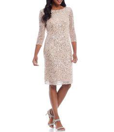 Jet Lag, Short Dresses, Dresses For Work, Dresses With Sleeves, Tunic Dresses, Sequin Dress, Lace Dress, Glitter Party Dress, Cowl Back Dress