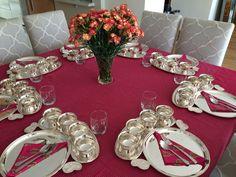 Diwali Table setting